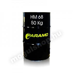 Paramo HM 68 hidraulika olaj 50 Kg