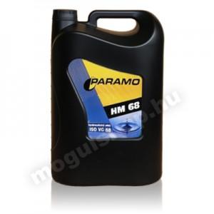 Paramo HM 68 hidraulika olaj 10 Liter