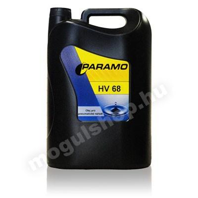 Paramo HV 68 hidraulika olaj 10 Liter