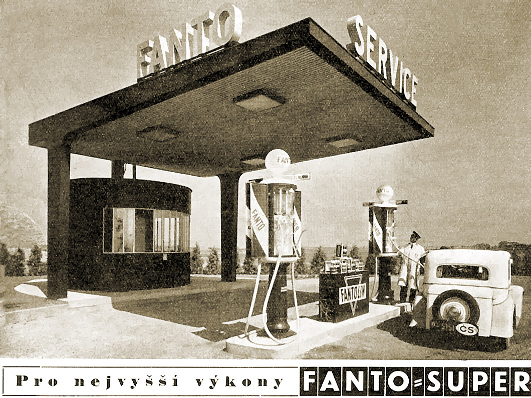 Fanto benzinkút