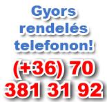 Gyors rendelés telefonon